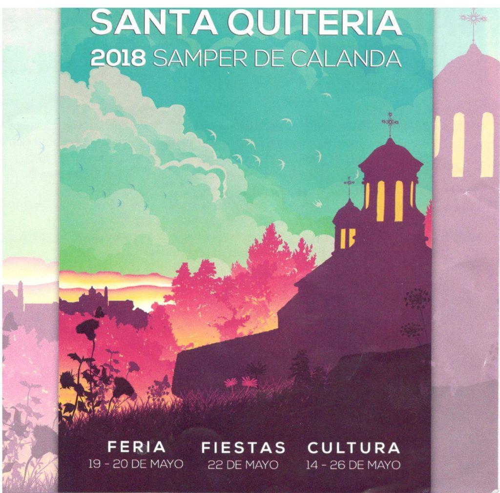 Cartel de la Feria de Samper de Calanda by Fanbar Quesos