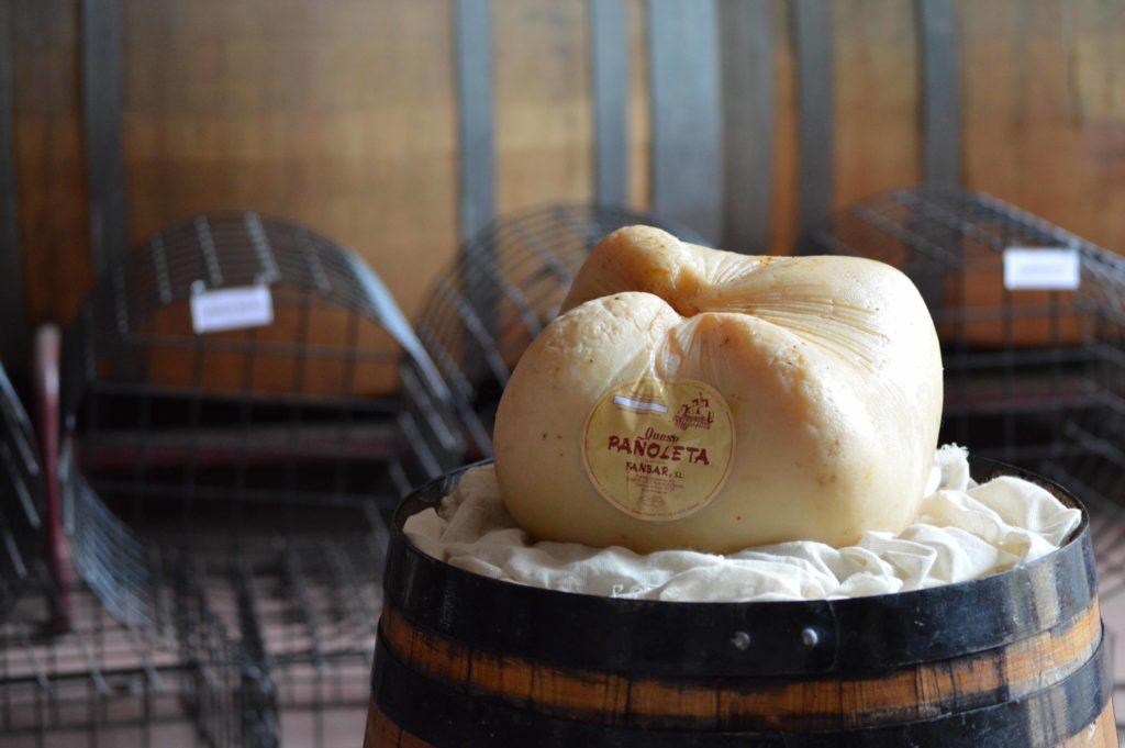queso artesano PAÑOLETA de Fanbar