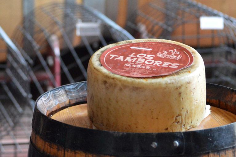 queso artesano Los Tambores