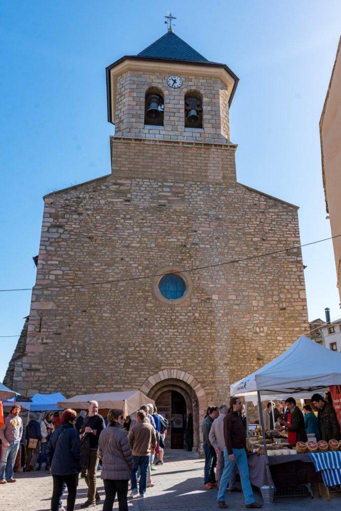 Plaza de la Iglesia de Alp