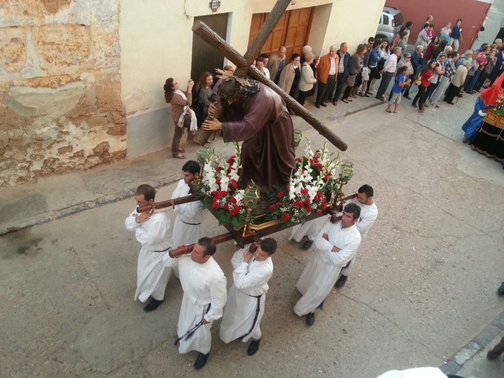 Imagen del Nazareno Samper de Calanda