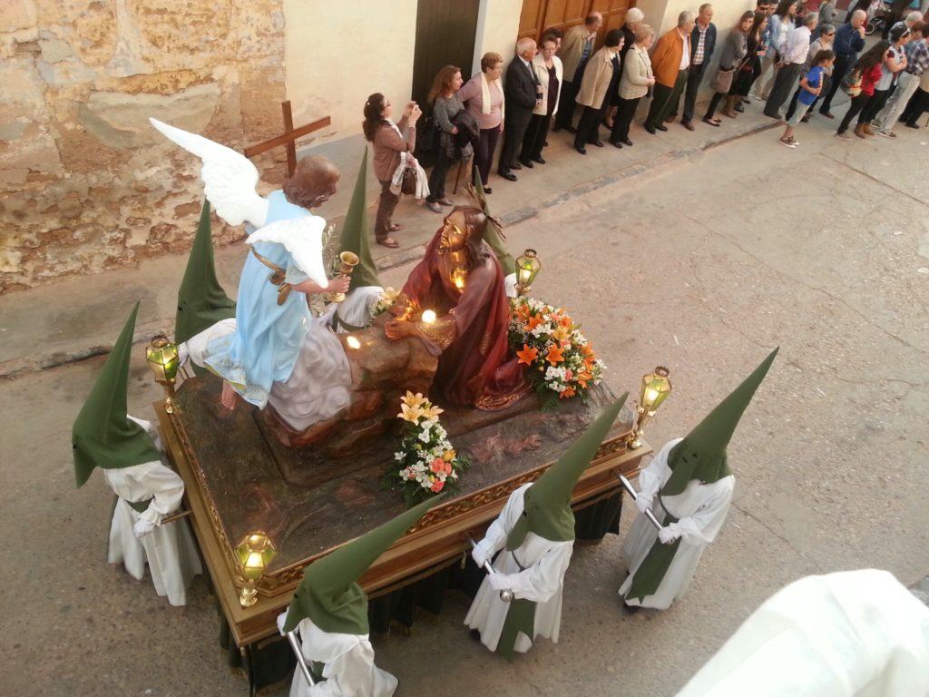 Imagen de la Oración del Huerto de los Olivos