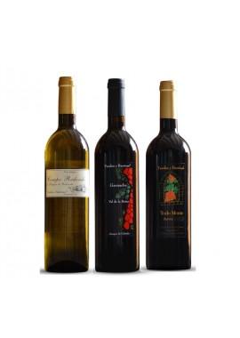 Pack 3 botellas de vino Fandos y Barriuso