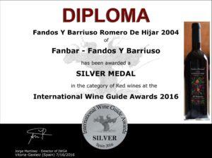 Romero de Hijar medalla de plata