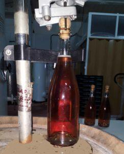 Grapa corcho vino espumoso o cava