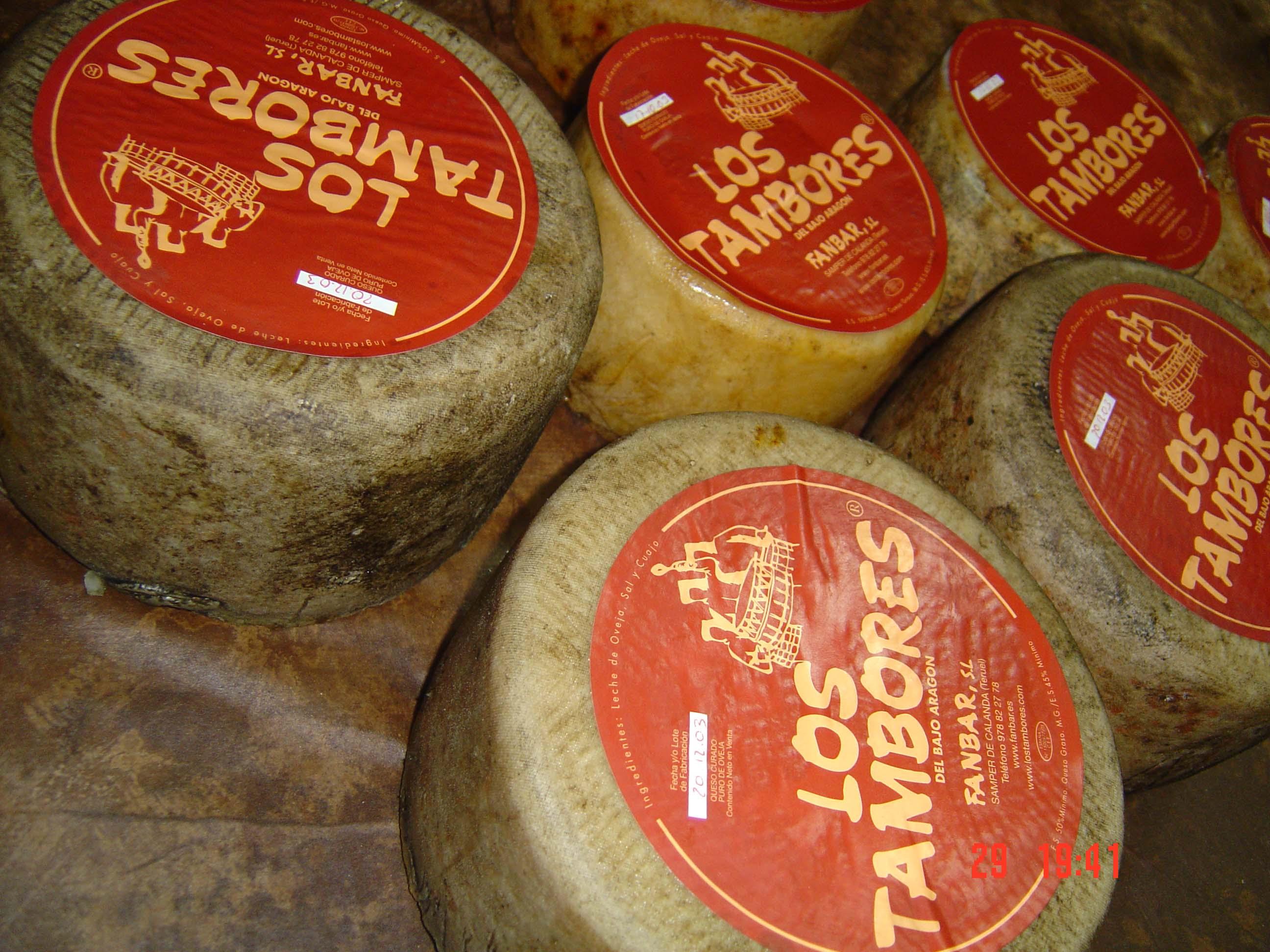 queso artesano Los Tambores oveja