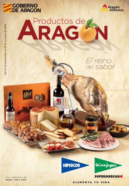 Productos de Aragón en el Corte Inglés