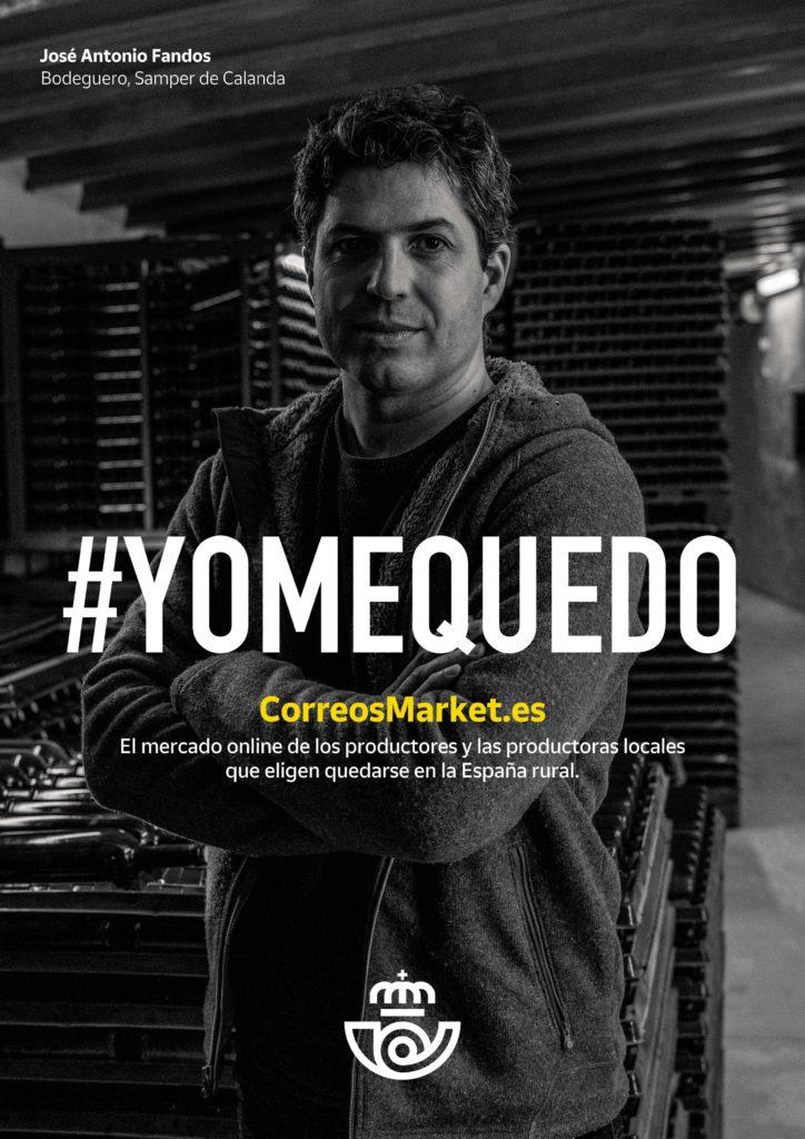 Gráfica #Fanbar de la Campaña #YoMeQuedo